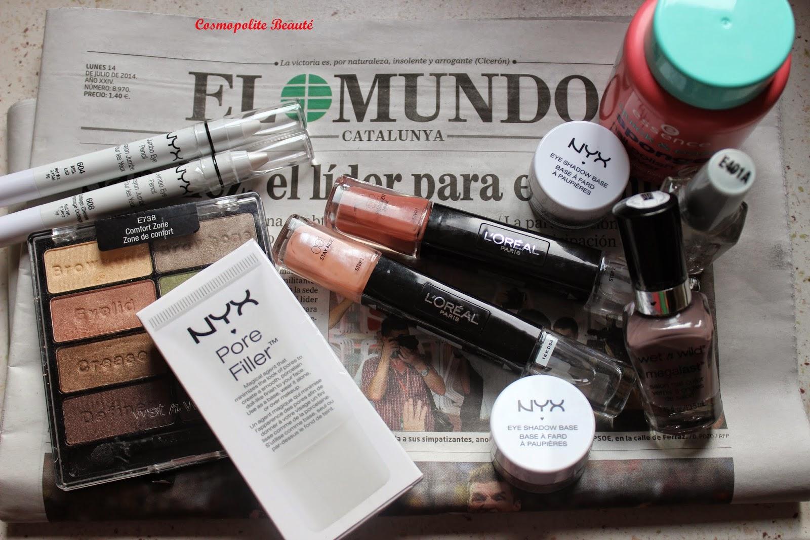 Cosmétiques, maquillage, pas chèr, Barcelone, Espagne, voyage, carnet de voyage, Barcelona, beauté, mode, boutiques