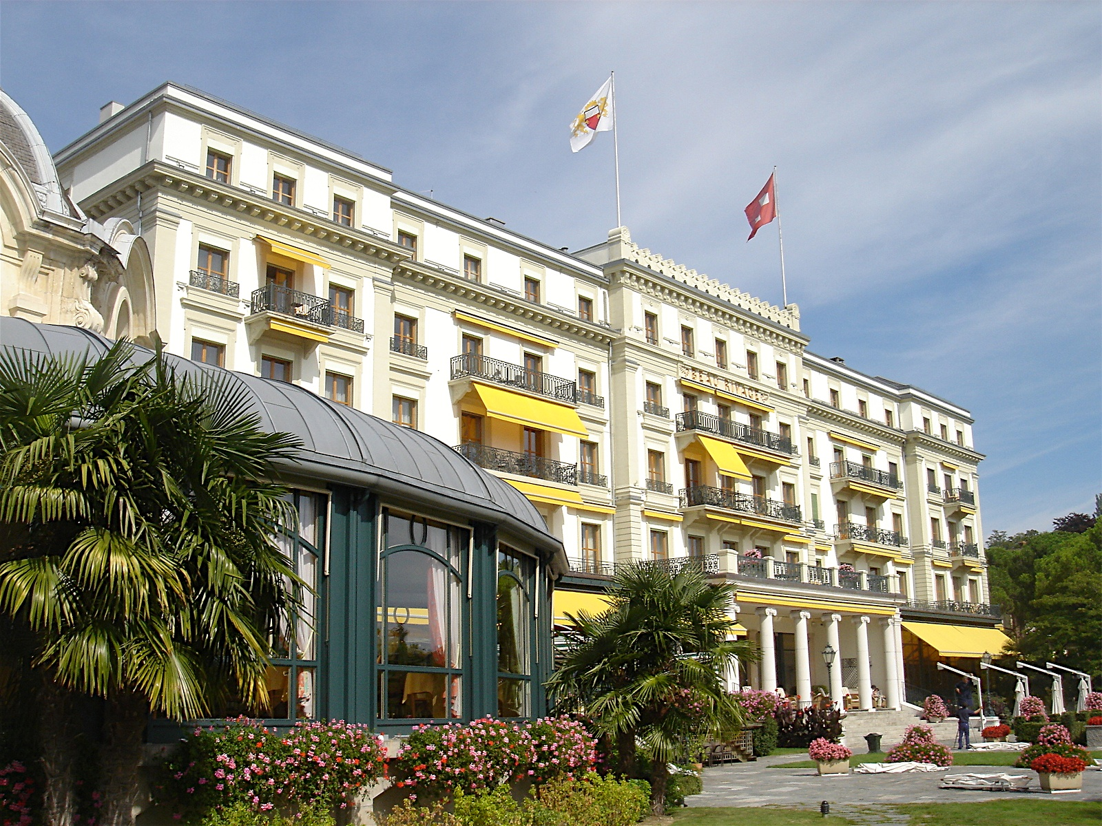 World top hotels beau rivage palace lausanne switzerland for Hotel palace