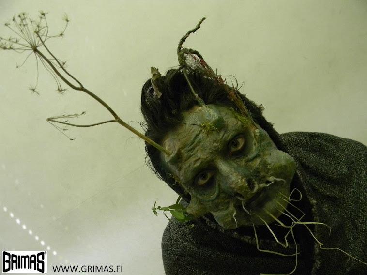 Shaman / Shamaani: Arttu Seppi. Make-up / Maskeeraus: Ari Savonen.