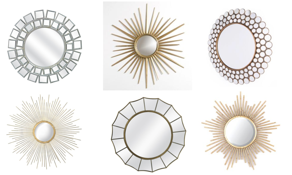 Thrifty tuesday affordable decorative mirrors for Affordable decorative mirrors