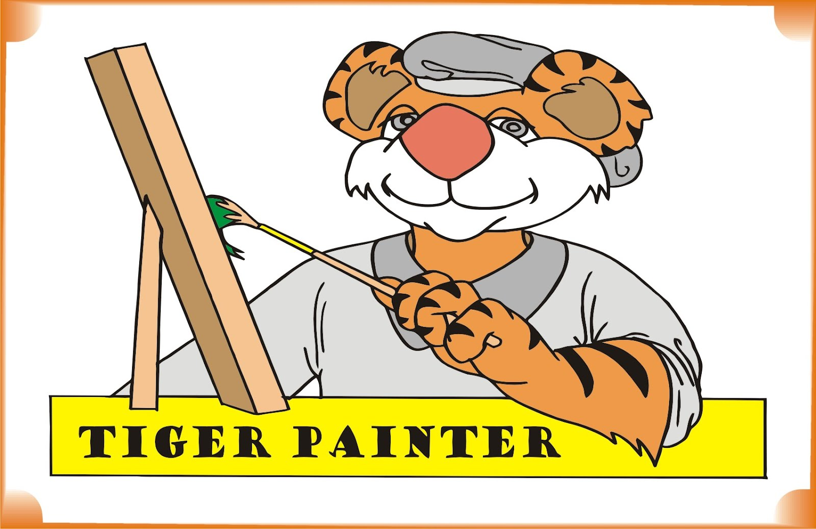 tiger-painter-coloring-pages