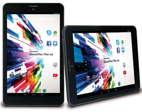 Tablet da 8 pollici Mediacom SmartPad HD Pro da 8 pollici di diagonale