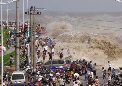 ola gigante en china rio 2011