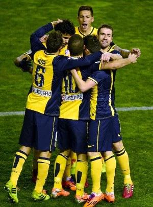 SPANISH FOOTBALL LA LIGA 2014