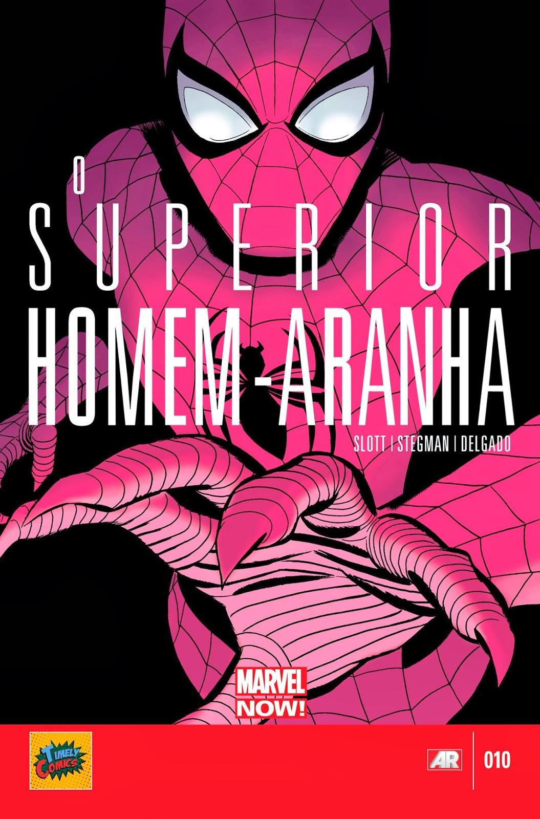 Nova Marvel! O Superior Homem-Aranha #10