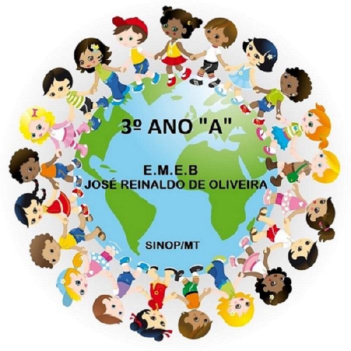 """3º Ano """"A"""" - EMEB José Reinaldo de Oliveira"""