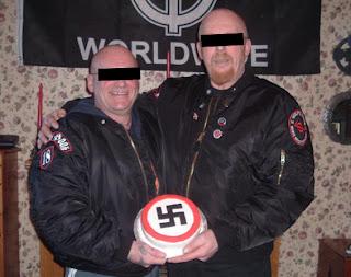 White Supremacist Wedding Cake