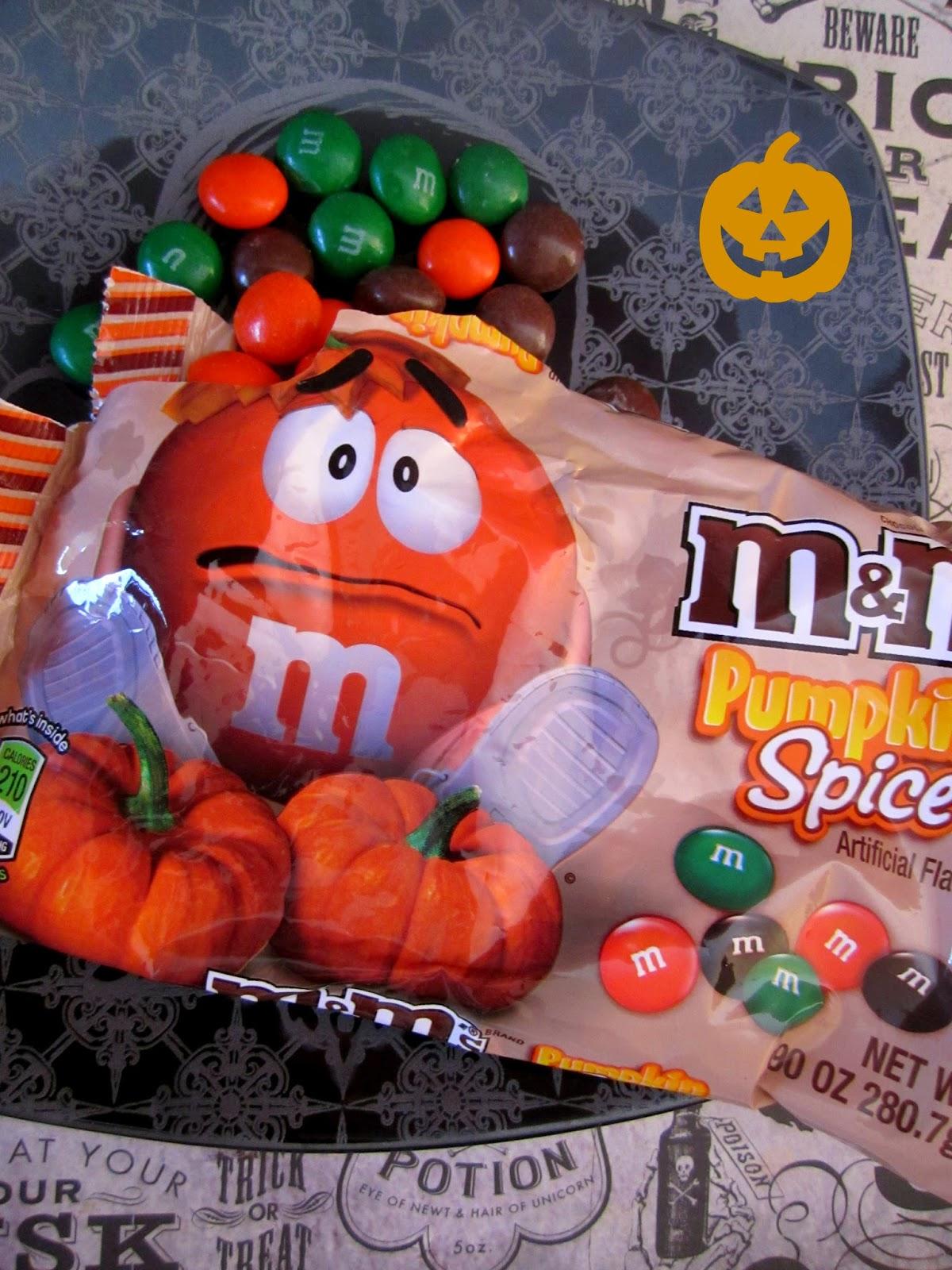 Pumpkin M & M's