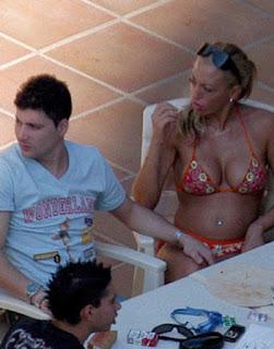 joven bikini belen esteban pareja fran