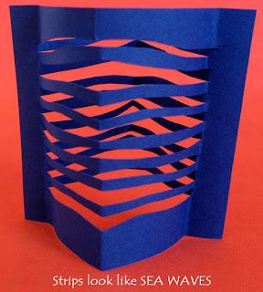 Cómo hacer una pecera de cartulina en Recicla Inventa