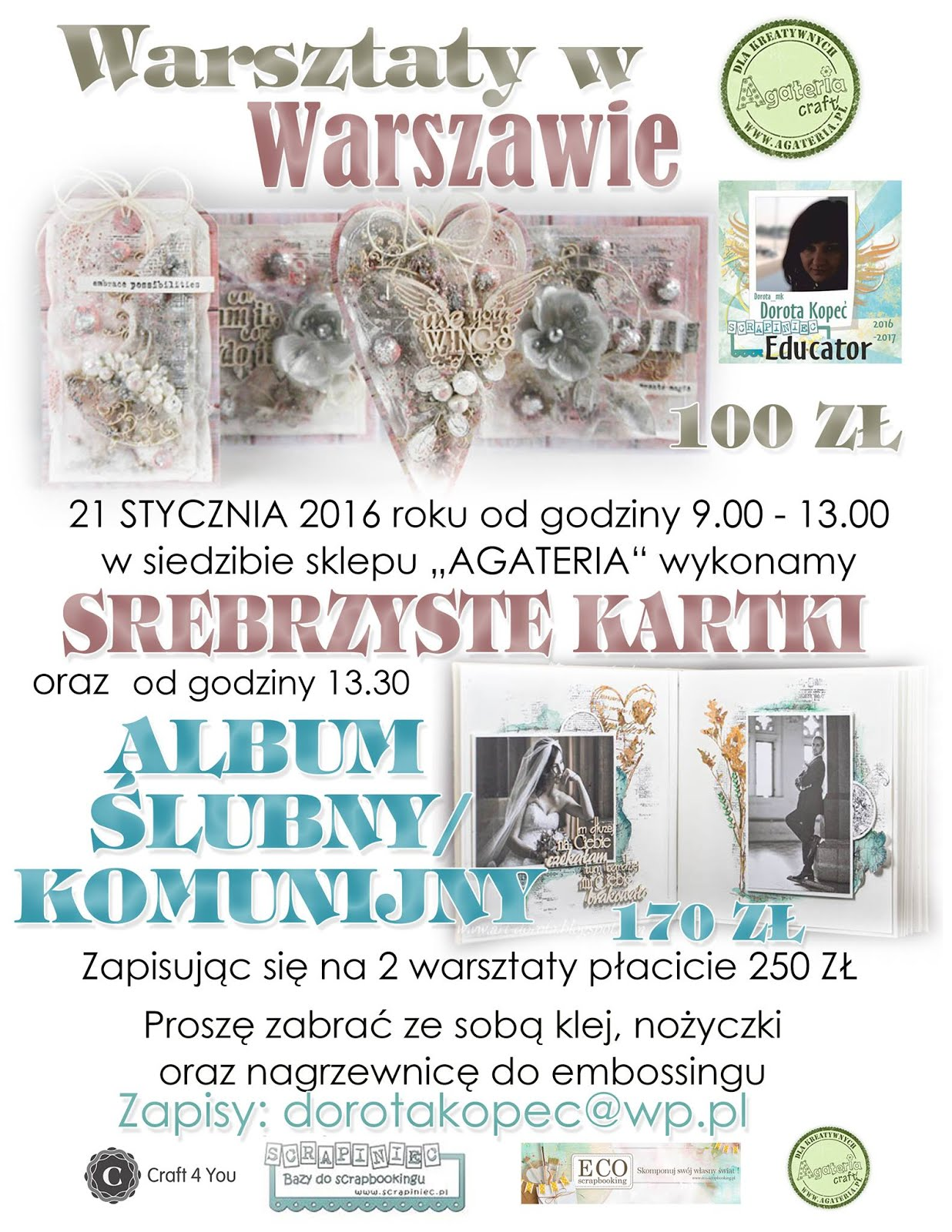 Warszawa Agateria 21.01.2017