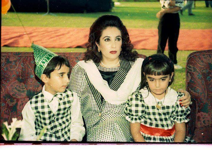 Mohtarma Shaheed Benazir Bhutto Family Photo All D HD Wallpapers - Bhutto family