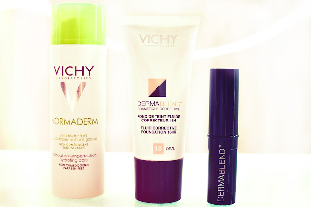 Vichy, Dermablend and Normaderm