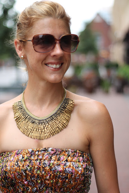 Blinde Sunglassese, Stella & Dot Pegasus Necklace