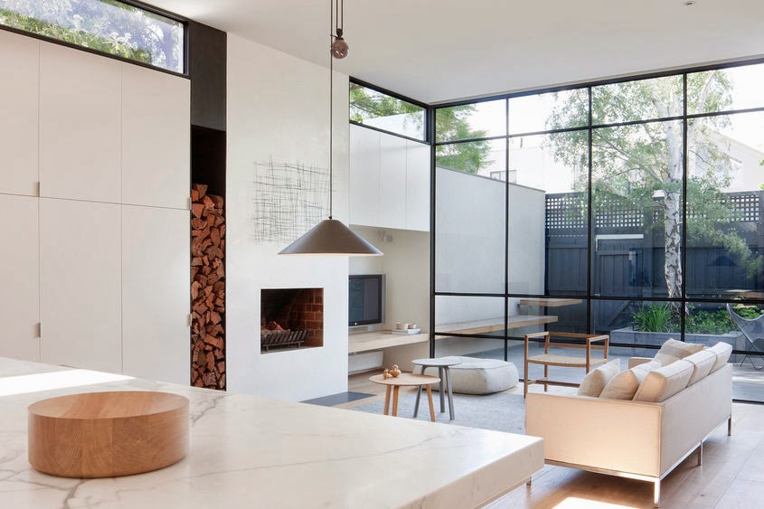 The Existing Victorian Residence Was Extended With A Light Filled Addition And Transformed Into Minimalist Space Simplicity Of Layout Use
