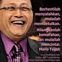 Kata-Kata Motivasi Mario Teguh