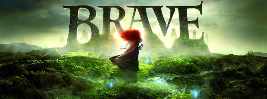 Brave movie 2012 facebook cover