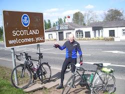 Day 6: 26th April 2011 Steve Arriving in Scotland