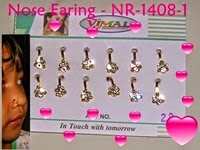 Nose Earing - Indian Jewellery - click picture