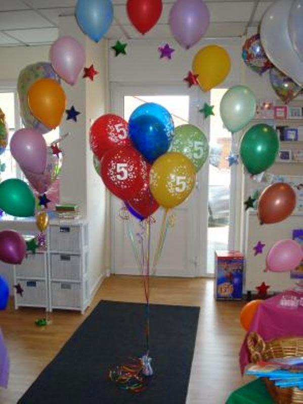 Ide balon dekorasi ulang tahun untuk anak