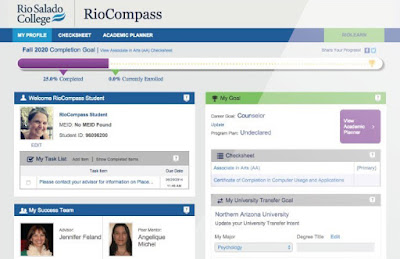 view of new RioCompass interface