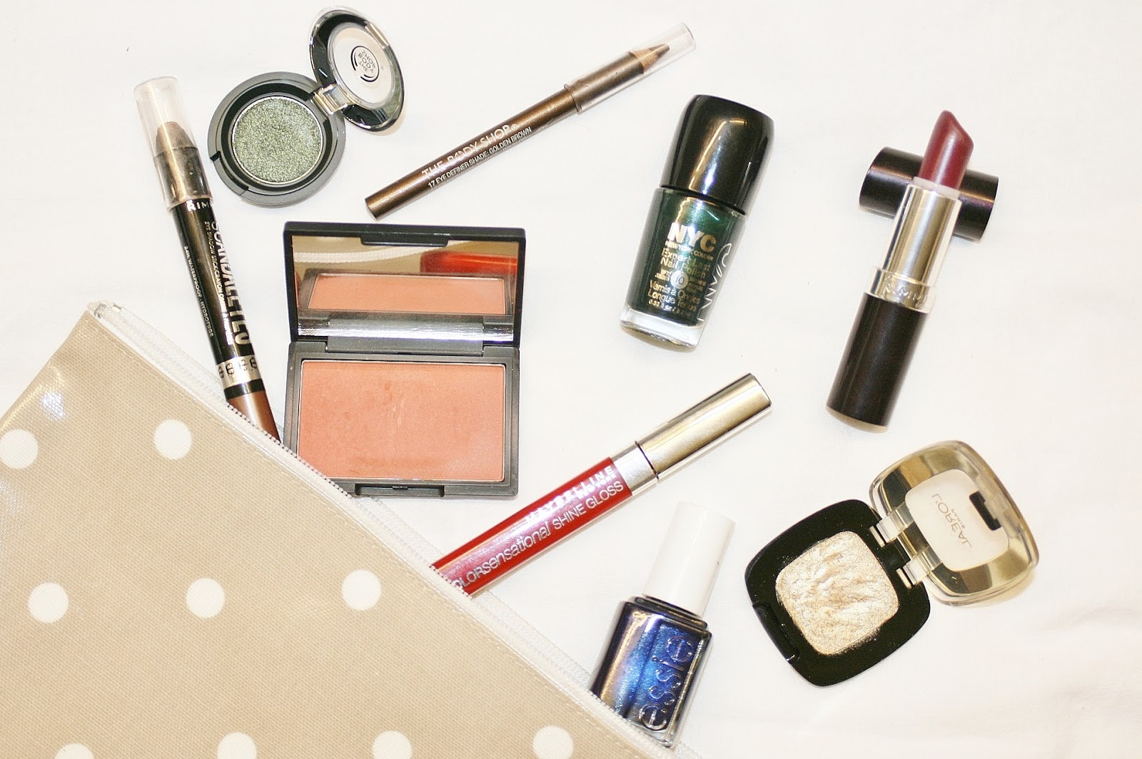 Penney Chic beauty winter makeup drugstore