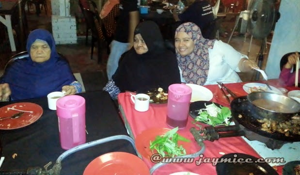 The Captain Steamboat and Grill Meru,Klang.