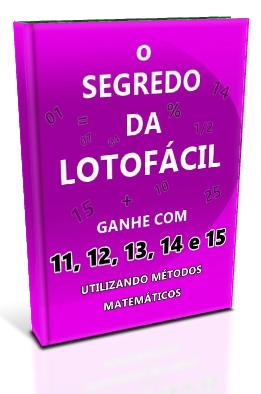 segredo revelado da lotofacil gratis