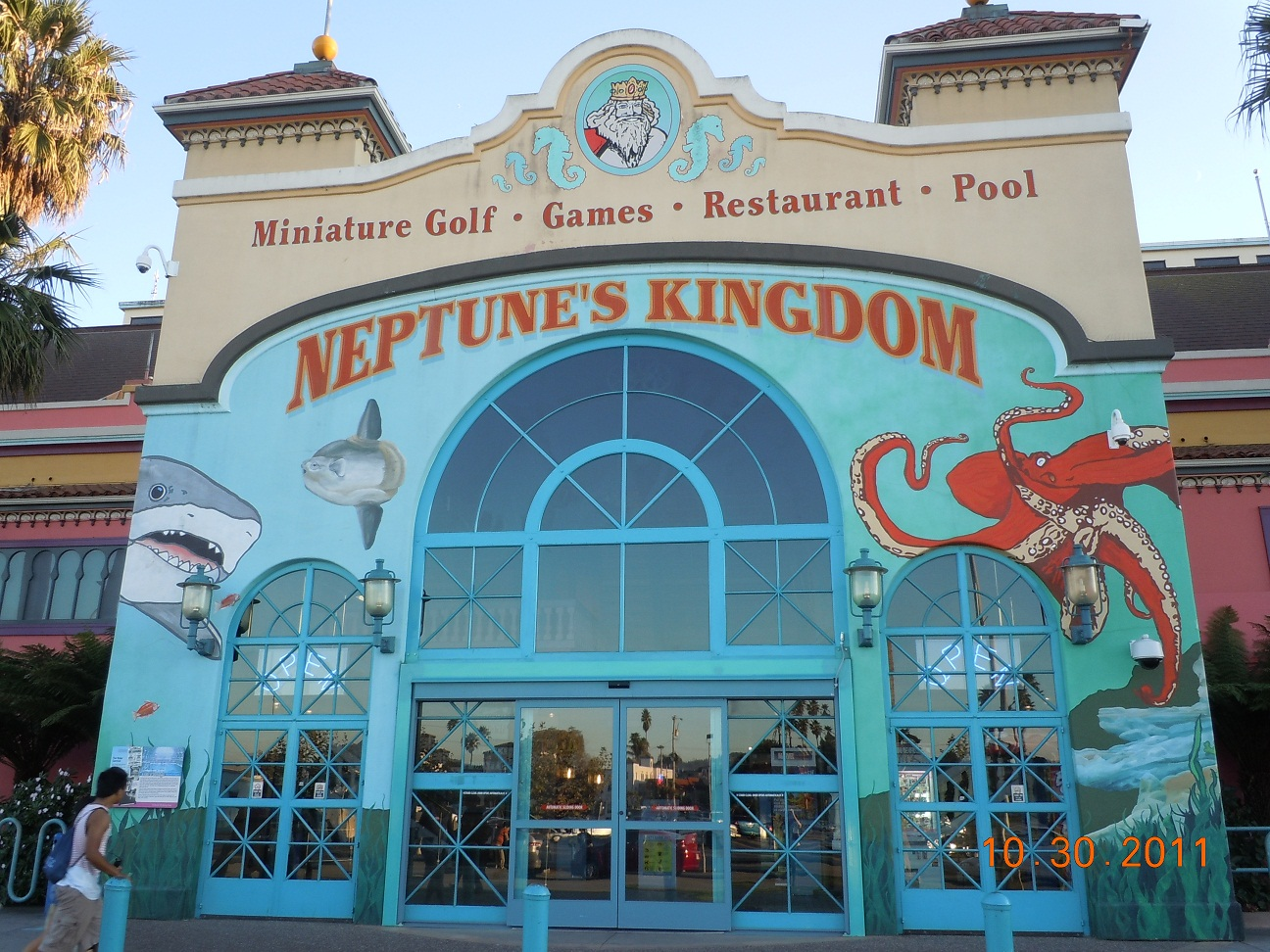 neptunes kingdom santa cruz boardwalk