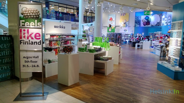 Feels like Finland at Stockmann