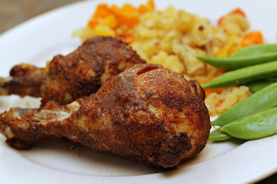 Smoky Oven-Baked Chicken - Turtles and Tails Blog