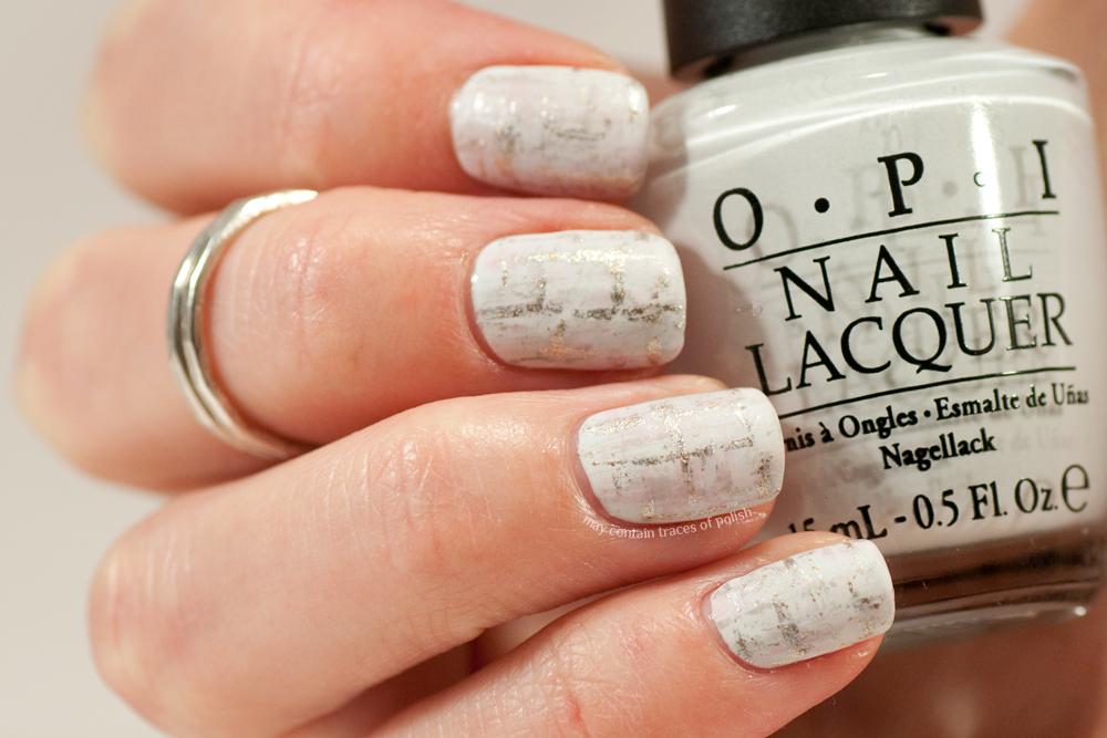 Discreet Tweed Nails May Contain Traces Of Polish