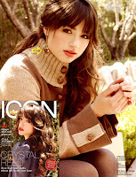 Actress Crystal Reed wearing my jewelry in the September issue of Icon ...