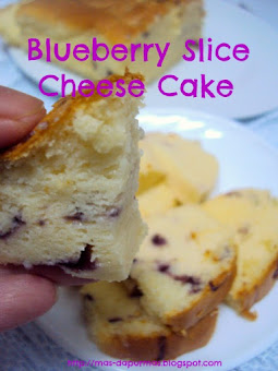 Utk Order : Blueberry Slice Cheese Cake