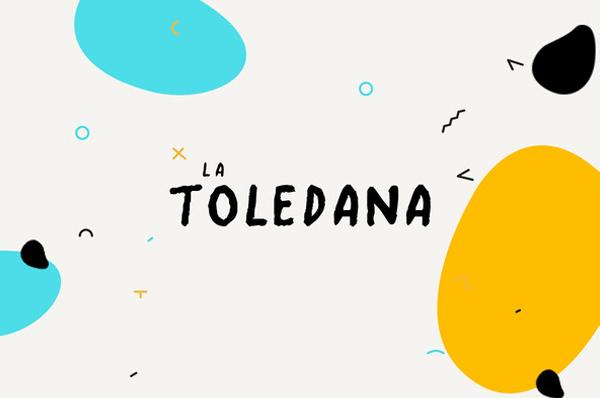 Font Terbaru Untuk Desain Grafis - La Toledana Script Free Font
