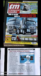 Publicacion en la Transporte Mundial!