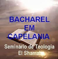 BACHAREL EM CAPELANIA