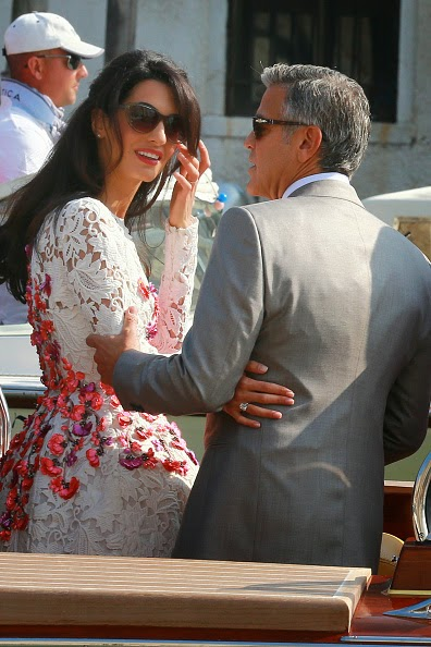 Kumpulan Foto Pernikahan George Clooney dengan Amal Alamuddin