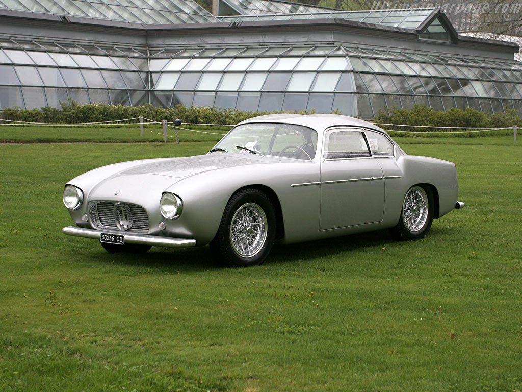 Maserati 3500 Gt >> FAB WHEELS DIGEST (F.W.D.): ZAGATOS!! (50s-60s)