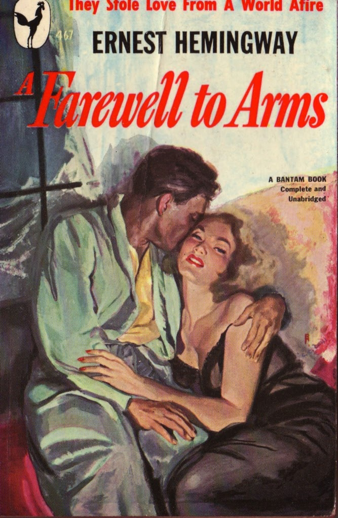 the love tragedy in a farewell to arms a novel by ernest hemingway Ernest hemingway's a farewell to arms (1929) is the quintessential  part of a  group of world war i italian partisans, he breaks away to form a romantic   ultimately, having lost catherine and their unborn child in the novel's tragic finale ,.