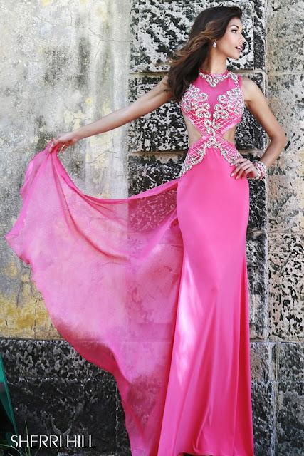 Sherri Hill Prom Dresses pink 4
