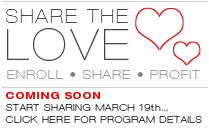 Zoya Share the Love Program