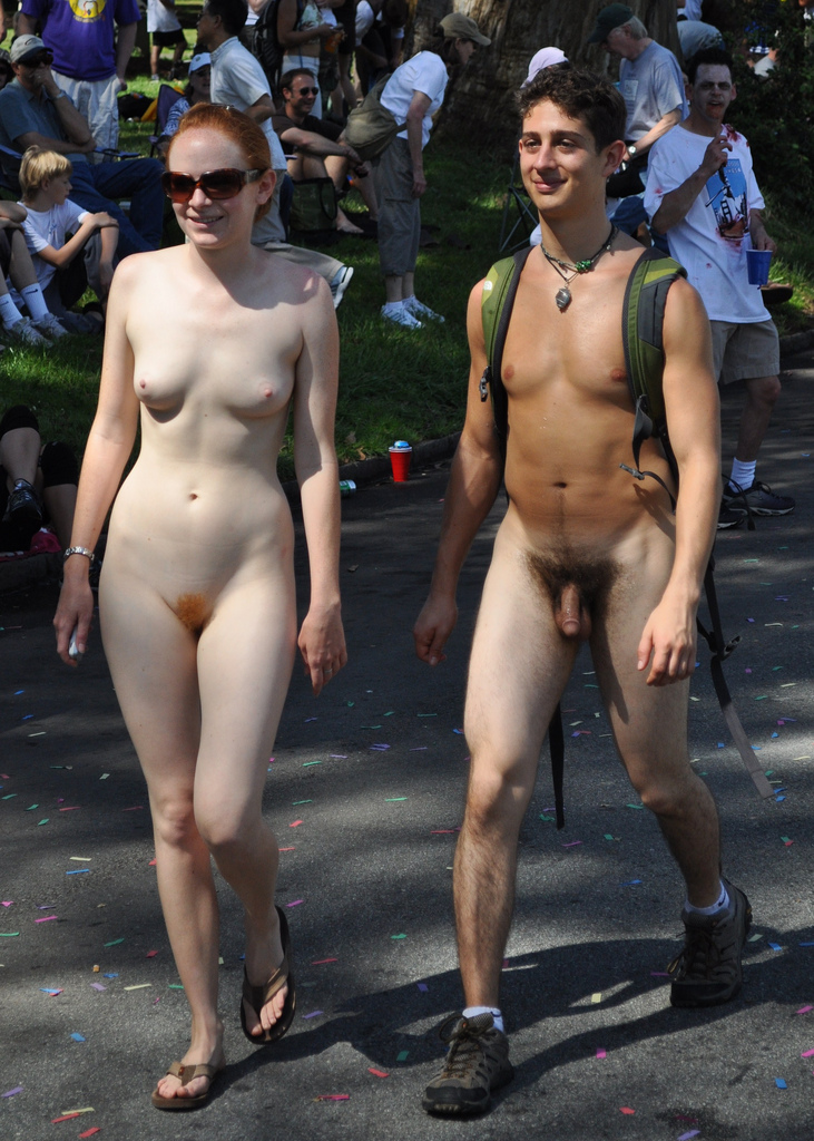 Nude nudist couples think, that