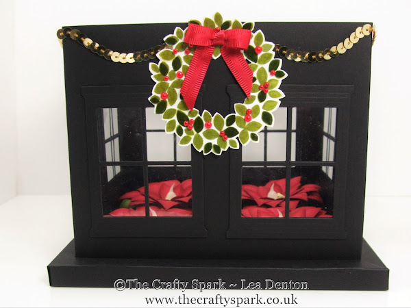Christmas Table Centrepiece with Hearth & Home plus the Festive Flower Punch