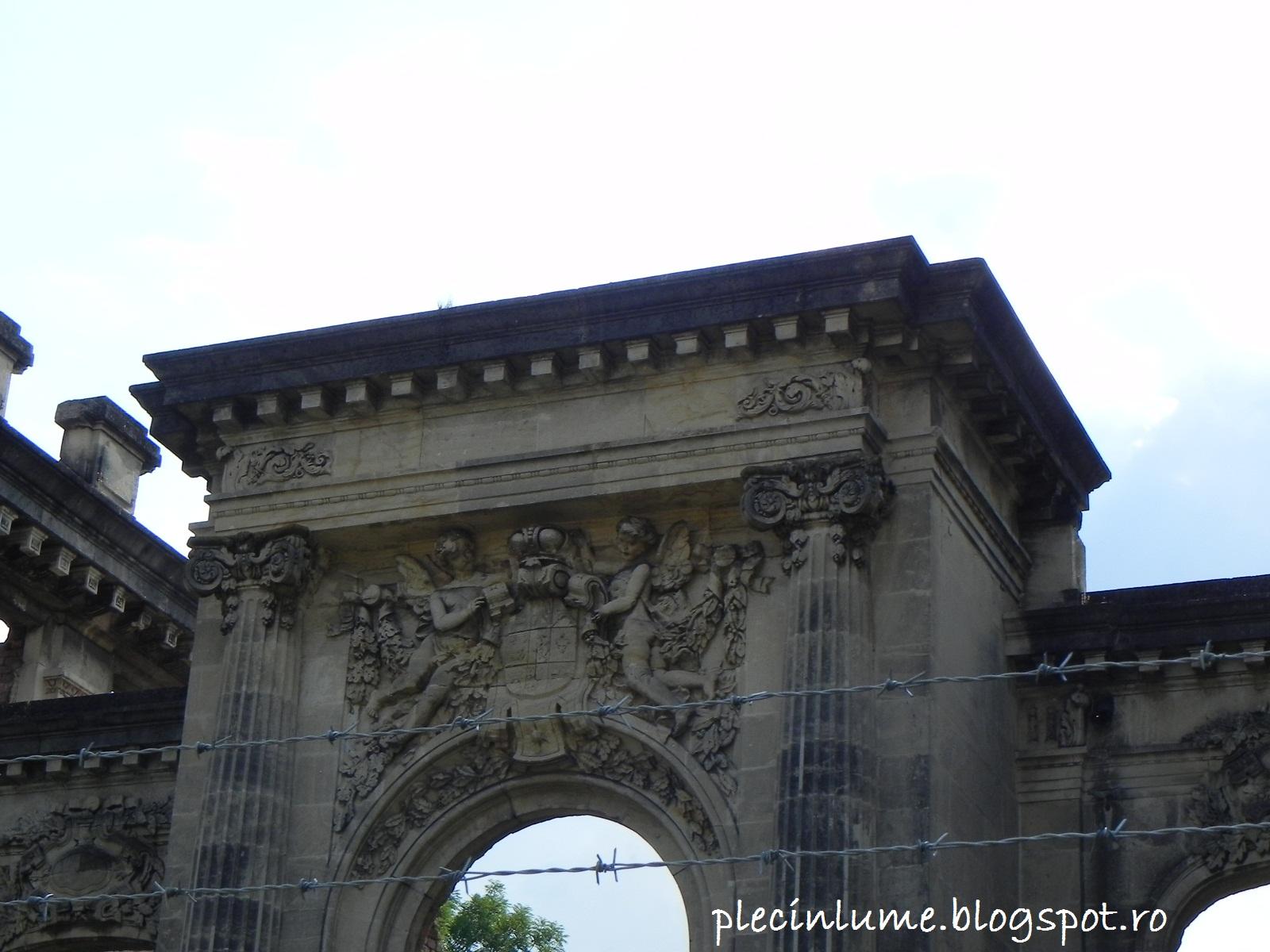Micul Trianon detaliu