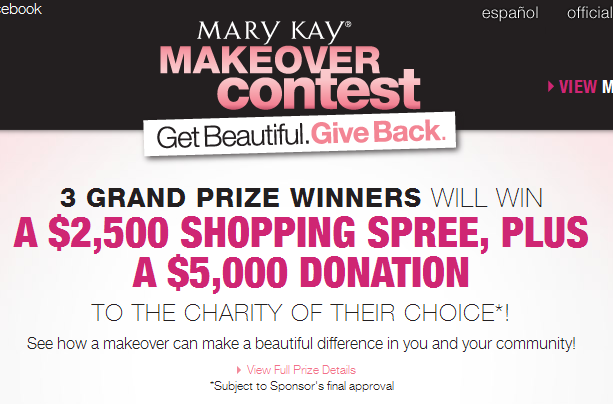 Mary Kay Makeover Day Mary Kay Makeover Contest
