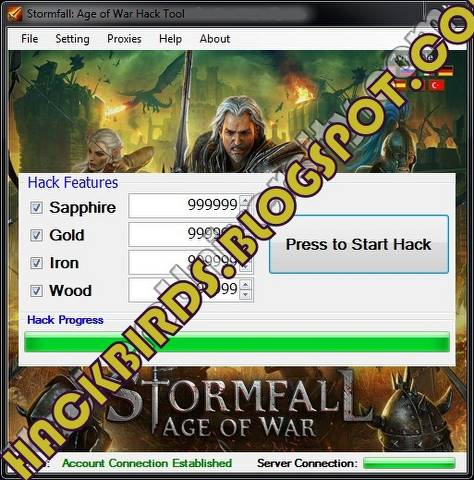 STORMFALL AGE OF WAR CHEAT TOOL ~ HACK BIRDS