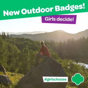 Girl Scouts can vote on new outdoor badges through Nov. 30, 2014