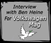 Interview with artist Ben Heine for Volkswagen Mag