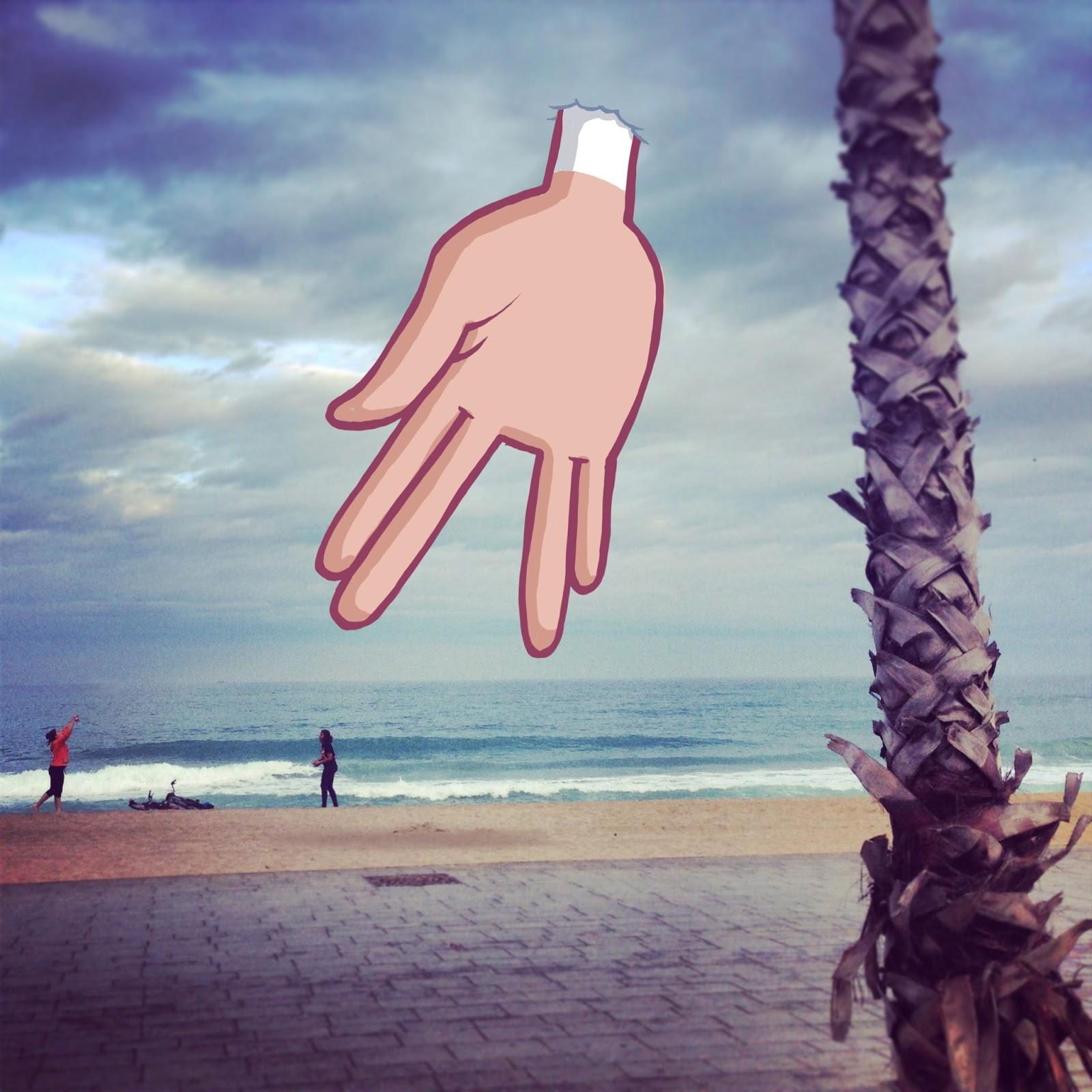 Hallucinations on the beach, Nr. 1
